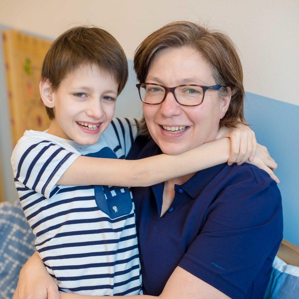 Christiane Hoffmeister mit Sohn Jan